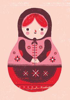 Babushka illustration by Ben Javens.