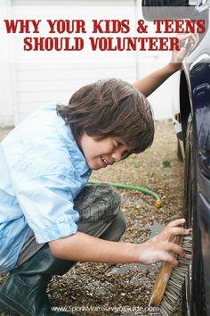 Why your Kids & Teens {& Athletes} Should Volunteer