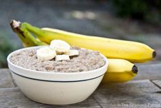 Banana Bread Oatmeal (Clean Eating)