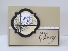 Serene silhouettes , Stampin' Up!