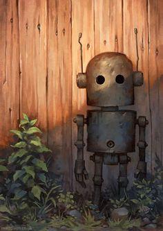 Robot (illustration 4) by Matt Dixon