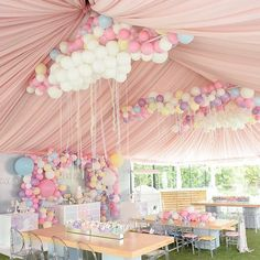Best selection of DIY party supplies for kids and adults. Party planning profess… – - New Deko Sites Unicorn Birthday Parties, First Birthday Parties, Birthday Party Themes, Birthday Decorations, Baby Birthday, Birthday Ideas, Diy Party Decorations, Princess Birthday, Birthday Gifts