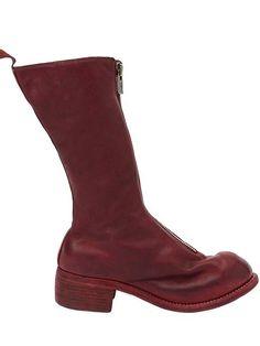 GUIDI 前拉链短靴. #guidi #shoes #前拉链短靴
