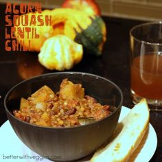 Acorn Squash Lentil Chili