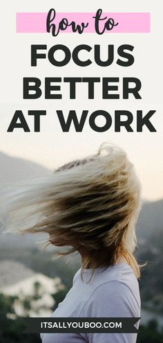 Stressed, anxious or distracted? Declutter your mind so you can focus better at work. Clearing your mind of mental clutter improves concentration. Focus At Work, Declutter Your Mind, How To Focus Better, Improve Concentration, Work Stress, Clear Your Mind, Mind Body Spirit, Decluttering, Spring Cleaning