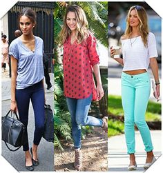 The right season to wear jeggings?