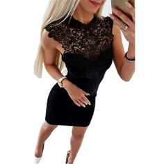 bfccd75e56 New Arrivals Summer Dress 2018 Women Sexy Club Slim Fit Lace Bodycon Party  Dresses Casual Splicing Mini Dress Vestido