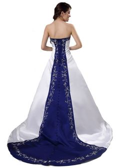 FairOnly Custom Strapless Satin Wedding Dress Bridal Gown Size 6 8 10 12 14 16++