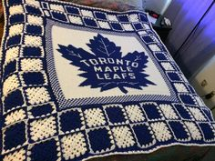 NASCAR toronto maple leafs diy, toronto maple leafs funny humour, toronto maple leafs bedroom id Leaf Knitting Pattern, Crochet Blanket Patterns, Cross Stitch Patterns, Knitting Patterns, Crochet Blankets, Crochet Afghans, Baby Blankets, Quilt Patterns, Toronto Maple Leafs Wallpaper