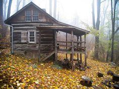 just-breezy:  Jones Mountain Cabin  byBill Couch