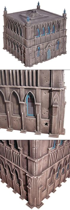 Buildings, Cities Of Death, Scratch Build, Terrain, Warhammer 40,000