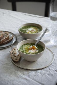 Nejlepší špenátová polévka s vejcem |