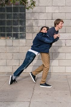 Perfect example of when you forget your jacket but you remember bae. Watch Episode 6 of our Instagram series with Paul Dano and Jenny Slate in new spring arrivals from Gap.