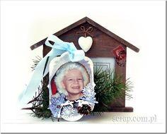 zawieszka akrylowa Scrapbook, Christmas Ornaments, Holiday Decor, Cards, Base, Home Decor, Decoration Home, Room Decor, Christmas Jewelry