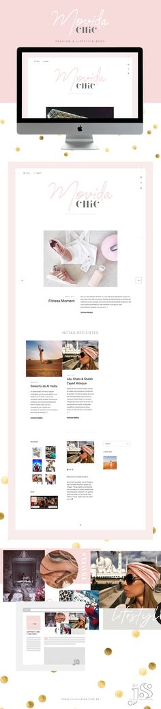 Diseño de Marca para #blogger #lifestyle and #travel. #Branding stylist de #webdesing e piezas institucionales.