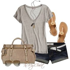 Comfy and Casual outfit idea for summer