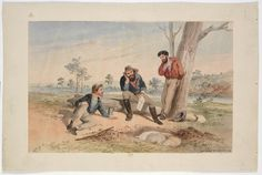 Burke and Wills Expedition / Samuel Thomas Gill. 7. Return to Cooper's Creek