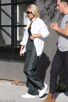 Capture Sofia's style in adidas x Alexander Wang track pants. Click 'Visit' to buy now. #DailyMail
