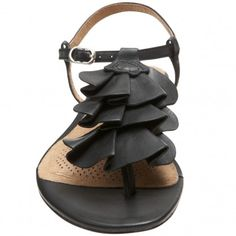 corso como ruffle t-strap thong sandals $109.00 on sale for $54.50  Sold out?!? I have a pair of these and wore them out - i love these shoes and am looking for another pair!!!