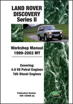 #LandRover Discovery Series II Workshop Manual 1999-2003 MY