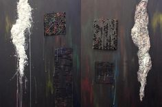 Sculptural Paintings. 2012.