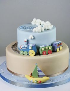 Train Cake, how flippin cute is this!!!