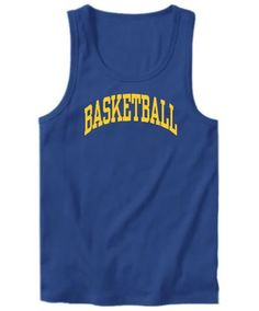 Basketball Athletic Dept Tank Top