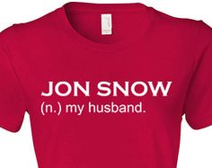 Mens Womens Game of Thrones Shirt Game Of Throne Jon Snow You Know Nothing Jon Snow size S, M, L, Xl, 2XL, 3XL M30