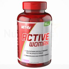 Met-Rx, Active Woman Daily Multivitamin - 90Ct