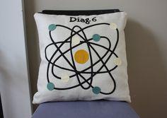 pillow #pillow #science diy-decoration-sewables