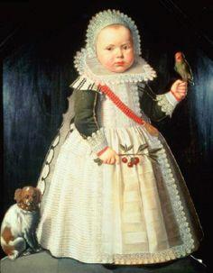 1627 Wybrand de Geest (Dutch artist, 1592-1661-65) Portrait of a boy