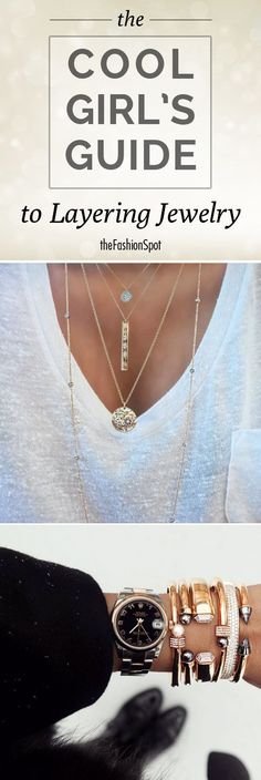 How to layer jewelry #jewels