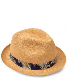 1e1b9cd3897 Christys  Hats Natural Liberty Band Carnaby Hat Mens Sun Hats