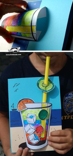 Arts And Crafts Ideas For Toddlers Summer Art Projects, School Art Projects, Summer Crafts, Art For Kids, Crafts For Kids, Art N Craft, Art Lessons Elementary, Spring Art, Art Club