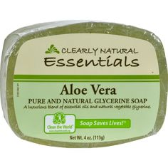 Clearly Natural Glycerine Bar Soap Aloe Vera - 4 oz