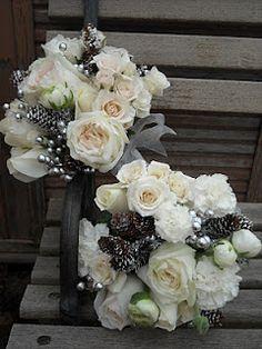 winter bridal bouquet bouquet