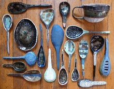 thewideprospect:    I can't stop making spoons, and here's a cup and a plate.