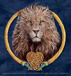 Lion Heart - a Celtic Lion by Deborah Crane-Foote