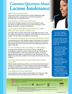 February is Lactose Intolerance Awareness Month! Check out this fact sheet for a number of tips to help those with lactose intolerance enjoy dairy again with these smart solutions.       http://www.nationaldairycouncil.org/EducationMaterials/HealthProfessionalsEducationKits/Pages/LactoseIntoleranceAndDairy.aspx