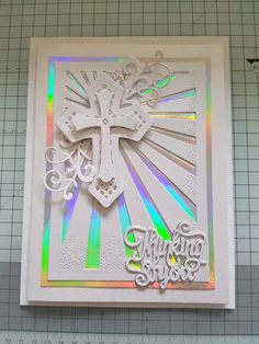 VT BigHome Cross Hope Dies Metal Cutting Dies Stencils for Card Making Decorative Embossing Suit Paper Cards Stamp DIY Confirmation Cards, Baptism Cards, Handmade Birthday Cards, Greeting Cards Handmade, First Communion Cards, Spellbinders Cards, Christian Cards, Sympathy Cards, Paper Cards