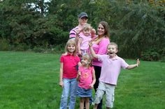 Breast Cancer Awareness Month is October wear pink funny family portrait ©Valarie Killgore Photography Funny Family Portraits, Family Humor, Breast Cancer Awareness, October, Couple Photos, Couples, Pink, How To Wear, Photography