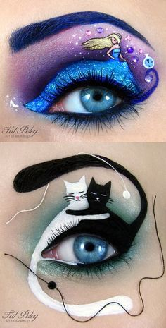 Amazing Eye Makeup Designs by Tal Peleg (Artist)