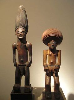 Lwena figures from Angola