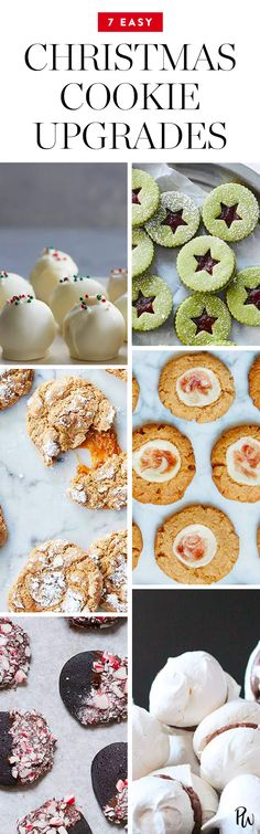 These Christmas cookies are chic, stylish and guaranteed to be the most popular dessert at your holiday party. Did we mention they're delicious? #christmascookies #christmas #cookierecipes #desserts #holidaydesserts