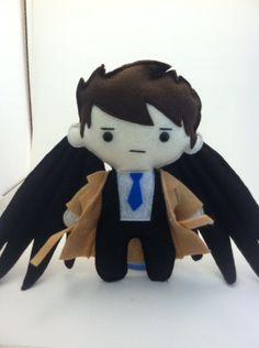 Castiel Supernatural Plush (31.00 USD) by TheCraftingZombie13