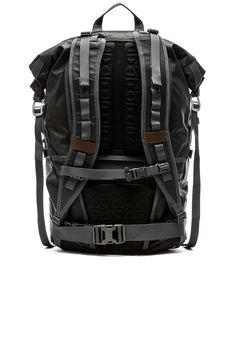 5abf39d7ca Poler High  amp  Dry 40L Rolltop Backpack in Black
