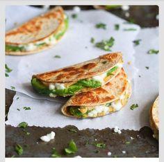 Mini Avocado And Hummus Quesadilla Recipe #Food #Drink #Trusper #Tip