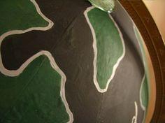 decoro sin decoro: Decorar globos terraqueos (II)