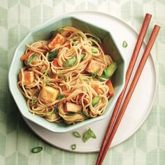 honey-ginger tofu and vegetable stir-fry
