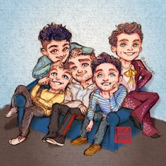 Best Baby Boy Cartoon Drawing One Direction 43 Ideas One Direction Fan Art, One Direction Background, One Direction Cartoons, One Direction Drawings, One Direction Preferences, One Direction Wallpaper, One Direction Imagines, One Direction Pictures, Direction Quotes